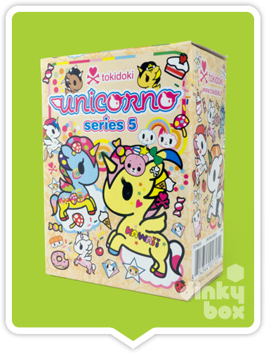 "OPEN BOX Tokidoki Unicorno S5 : 3"" Kajiucorno (complete with all original packaging) - moosedinky"
