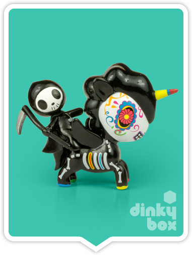 "OPEN BOX Tokidoki Unicorno S6 : 3"" Adios & Caramelo (complete with all original packaging) - moosedinky"