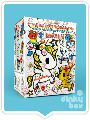 BLIND BOX : Tokidoki Unicorno S6 Collectable Mini Figure - Just who will arrive at your UK home? 15yrs+ - moosedinky
