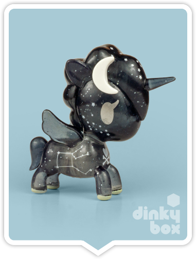 "OPEN BOX Tokidoki Unicorno S6 : 3"" Galactica (complete with all original packaging) - moosedinky"