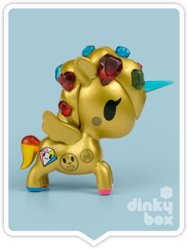 "OPEN BOX Tokidoki Unicorno S6 : 3"" Gemma (complete with all original packaging) - moosedinky"