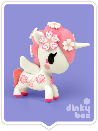 "OPEN BOX Tokidoki Unicorno S6 : 3"" Hanako (complete with all original packaging) - moosedinky"