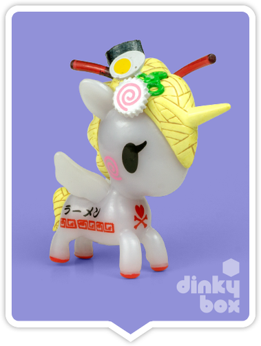 "OPEN BOX Tokidoki Unicorno S6 : 3"" Miso (complete with all original packaging) - moosedinky"