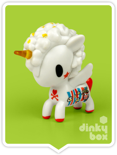 "OPEN BOX Tokidoki Unicorno S6 : 3"" Pop Star (complete with all original packaging) - moosedinky"