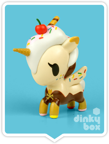 "OPEN BOX Tokidoki Unicorno S6 : 3"" Sundae (complete with all original packaging) - moosedinky"