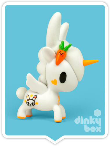 "OPEN BOX Tokidoki Unicorno S6 : 3"" Usagi (complete with all original packaging) - moosedinky"