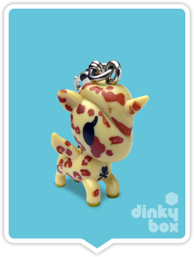 "OPEN BOX Tokidoki Unicorno Frenzies S1 : 1"" Cheetah charm (complete with all original packaging) - moosedinky"