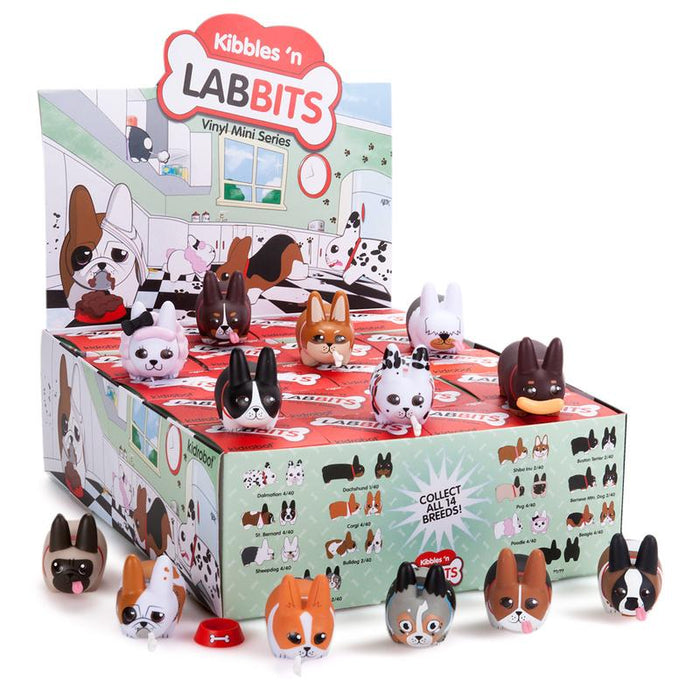 BLIND BOX : Kidrobot Kibbles 'N Labbit Collectable Mini Figure - Just who will arrive at your UK home? 15yrs+ - moosedinky