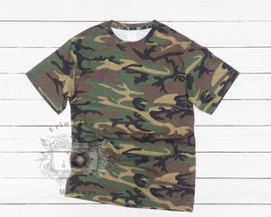 Erin Plewes Mockups Camo T Shirt Mockup, Military Camo Tshirt Mockup for Lifestyle Stock Photos, Instant Digital Download Jpeg