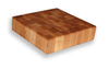 "Maple End Grain Chopping Block 3"" Thick"