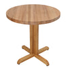 "Red Oak Round Table 1¾"" Thick"