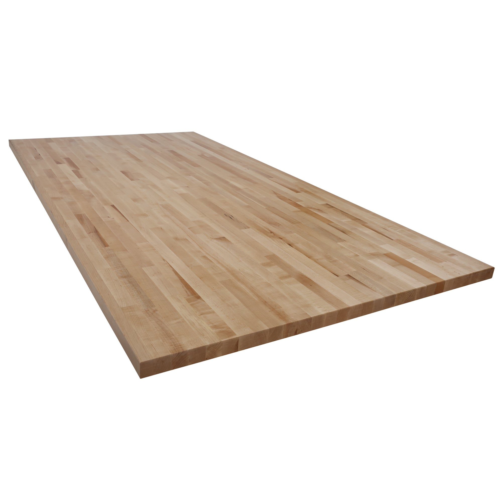 Maple Table Island Tops ¾ Thick AGA Wood Welded West - Thick wood table top