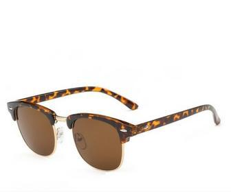 Vintage Clubmaster Style Sunglasses