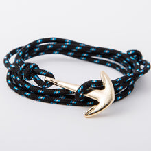 Vintage Rope and Anchor Wristband