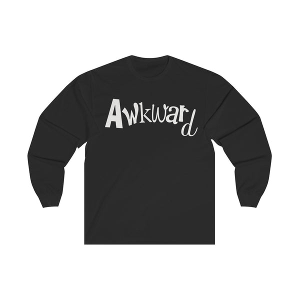 Unisex Long Sleeve Tee T-shirt Awkward - Simple Fandom