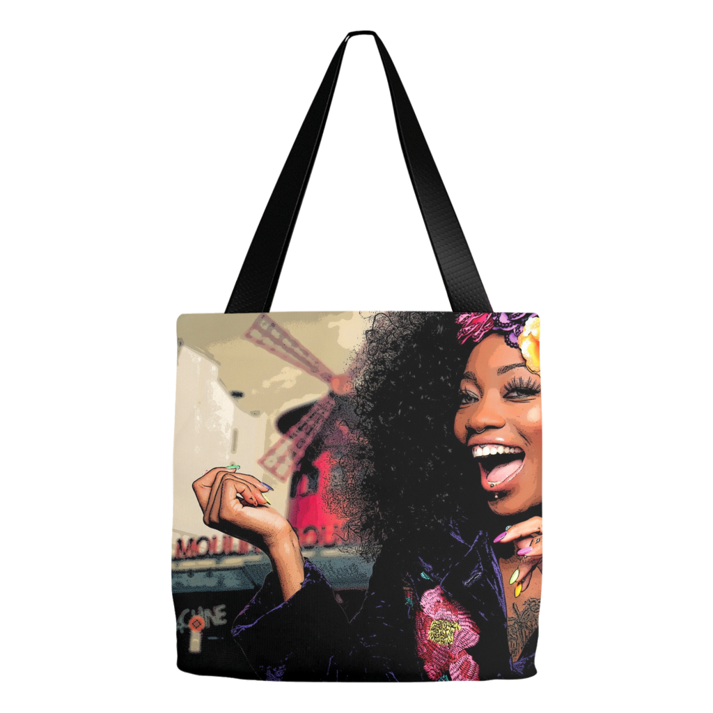 Moulin Rouge Fierce Tote Bag