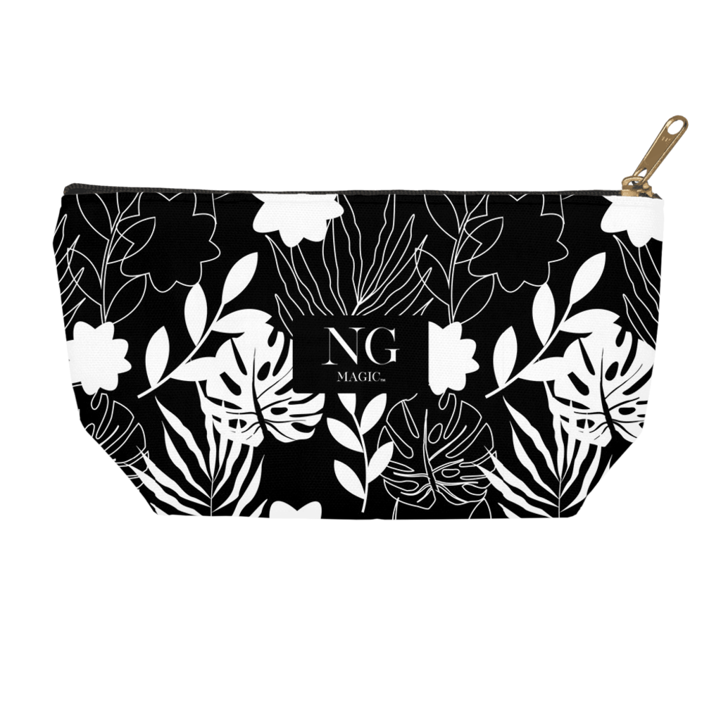 Noir Bouquet Accessory Pouches