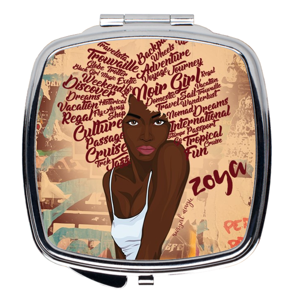 Zoya Graffiti Compact Mirrors Square
