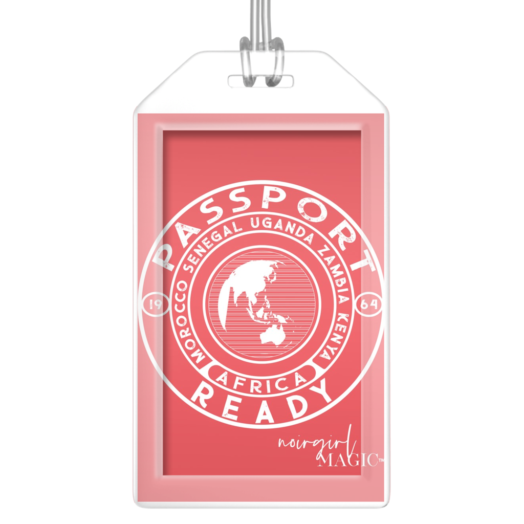 Passport Ready Africa Luggage Tags
