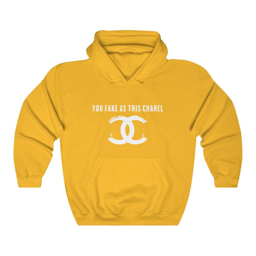 You Fake Unisex Hoodie Gold