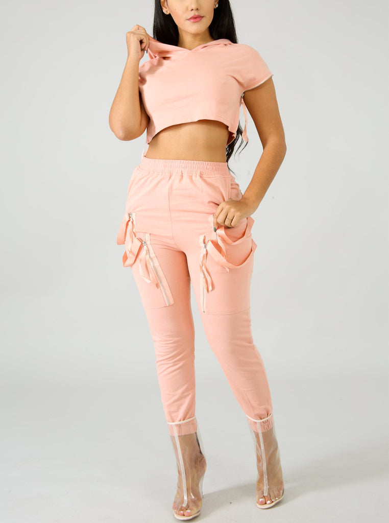 Ribbons 2 Piece Sweatsuit