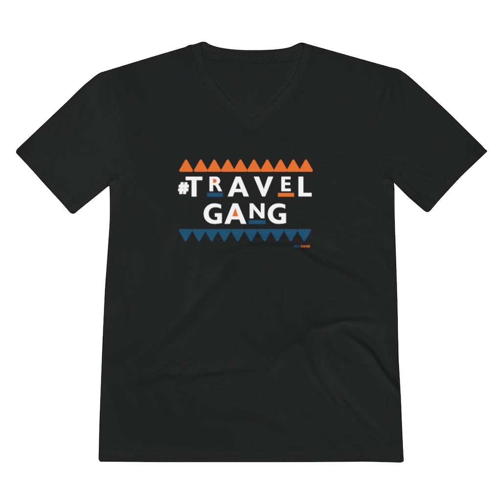 Men's #TravelGang V-Neck Tee