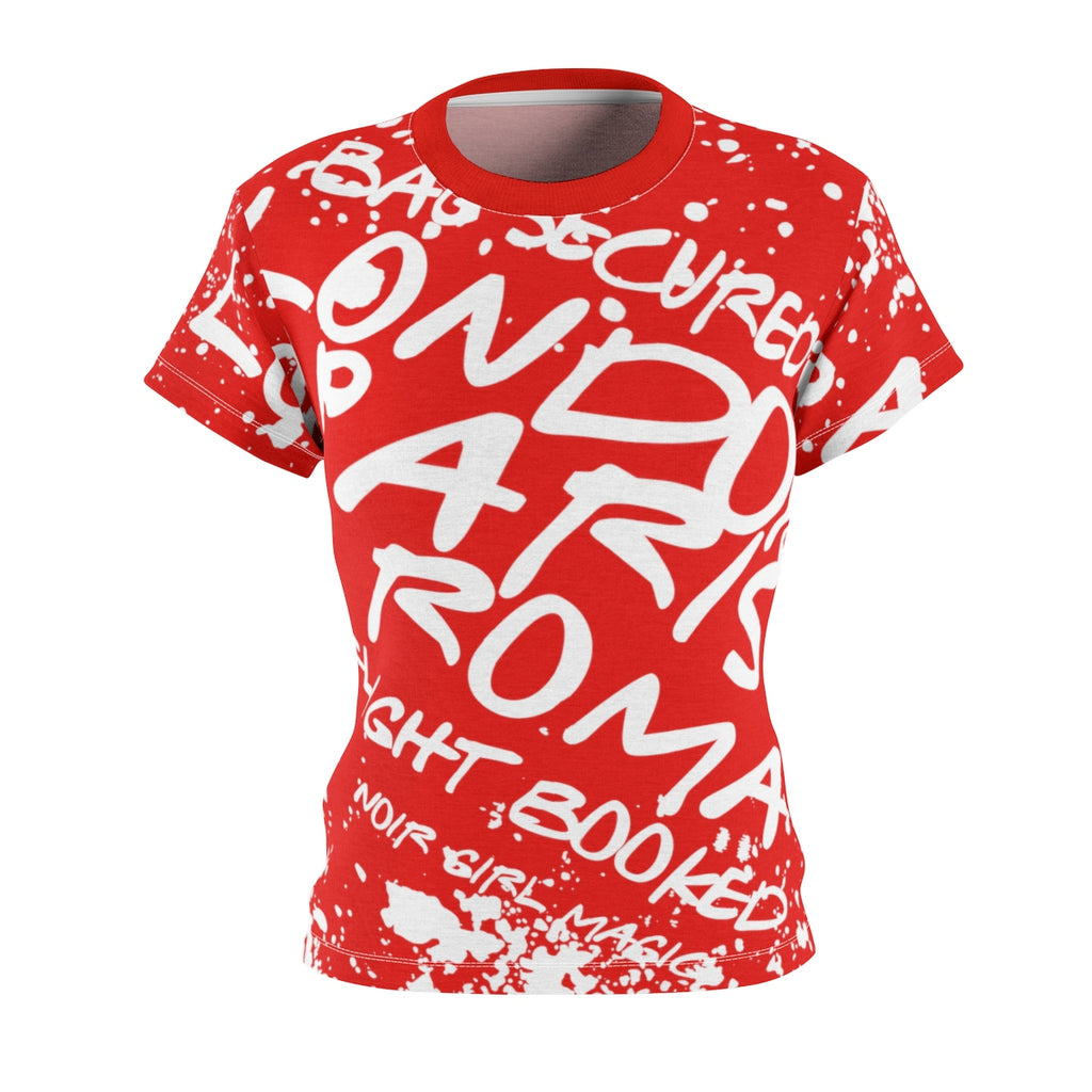 Bag Secured Graffiti Tee | Red Front