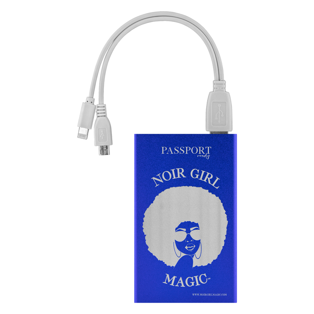 Noir Girl Magic™ Travel Power Bank