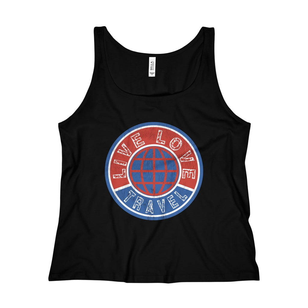 Live Love Travel Jersey Tank