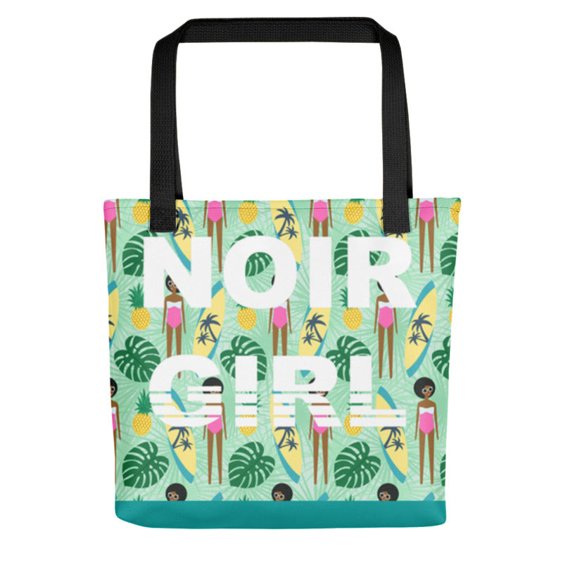 Surfer Girl Tote Bage
