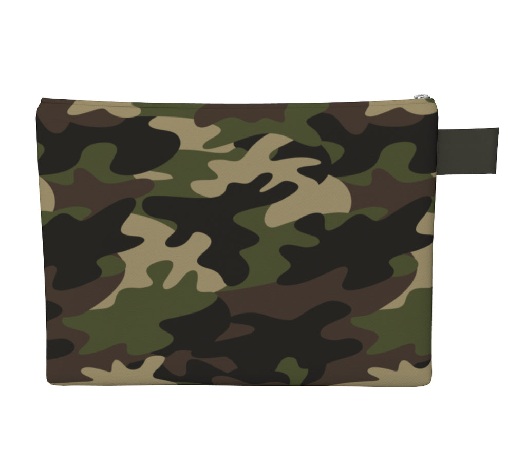 Noir Girl Camo Clutch Back