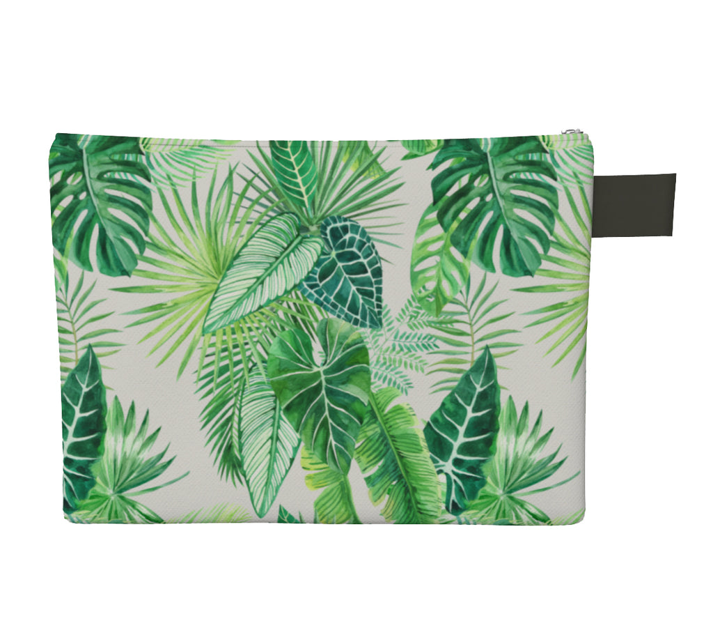 Noir Girl Tropical Paradise Clutch Back