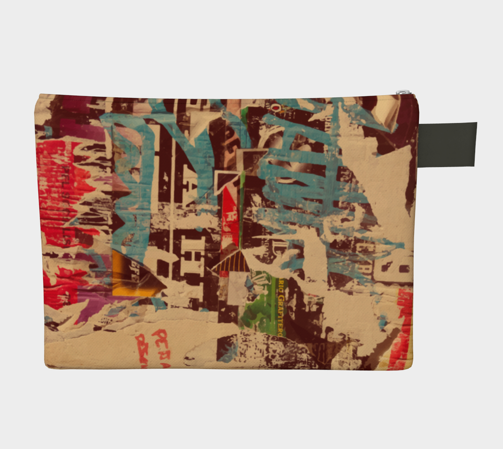 "Graffiti Carry All Clutch | 10"" - 16"""
