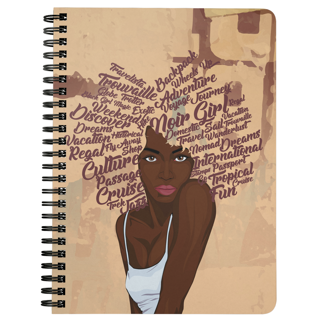 Zoya I Do Believe It's Time For Another Adventure Notebook | Spiral Journal front