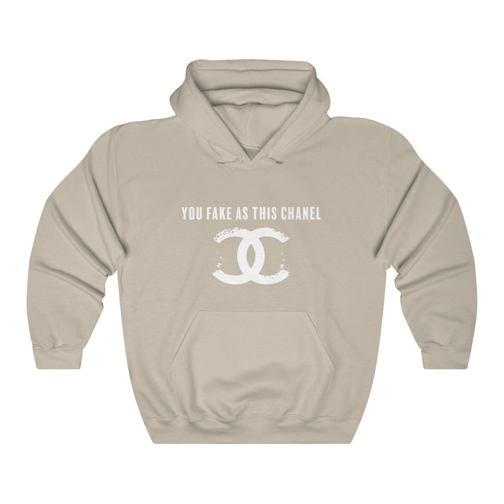 You Fake Unisex Hoodie Sand