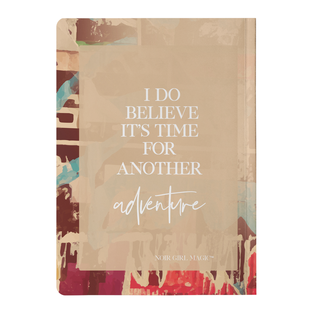 Nori I Do Believe It's Time For Another Adventure | Notebook Back