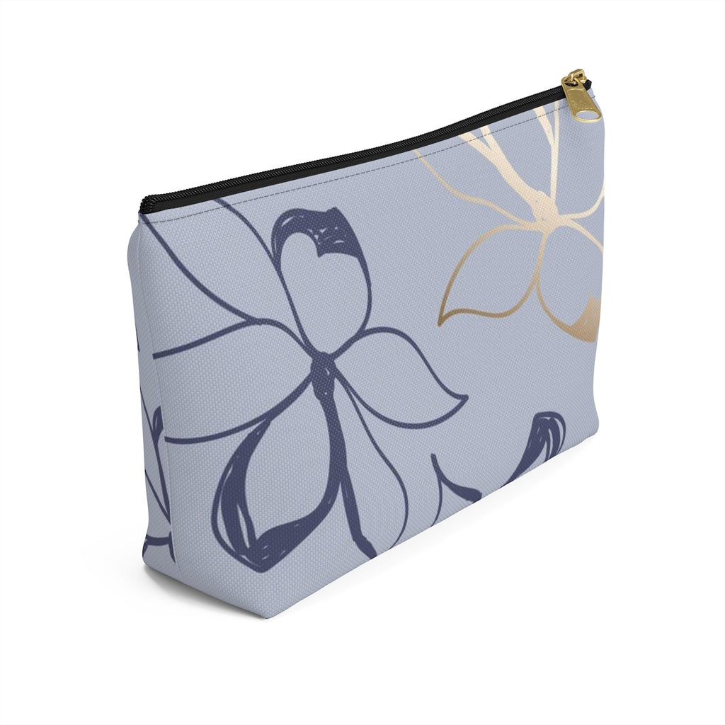 Jasmine In Bloom Cosmetic Travel Bag/Packing Cube Side