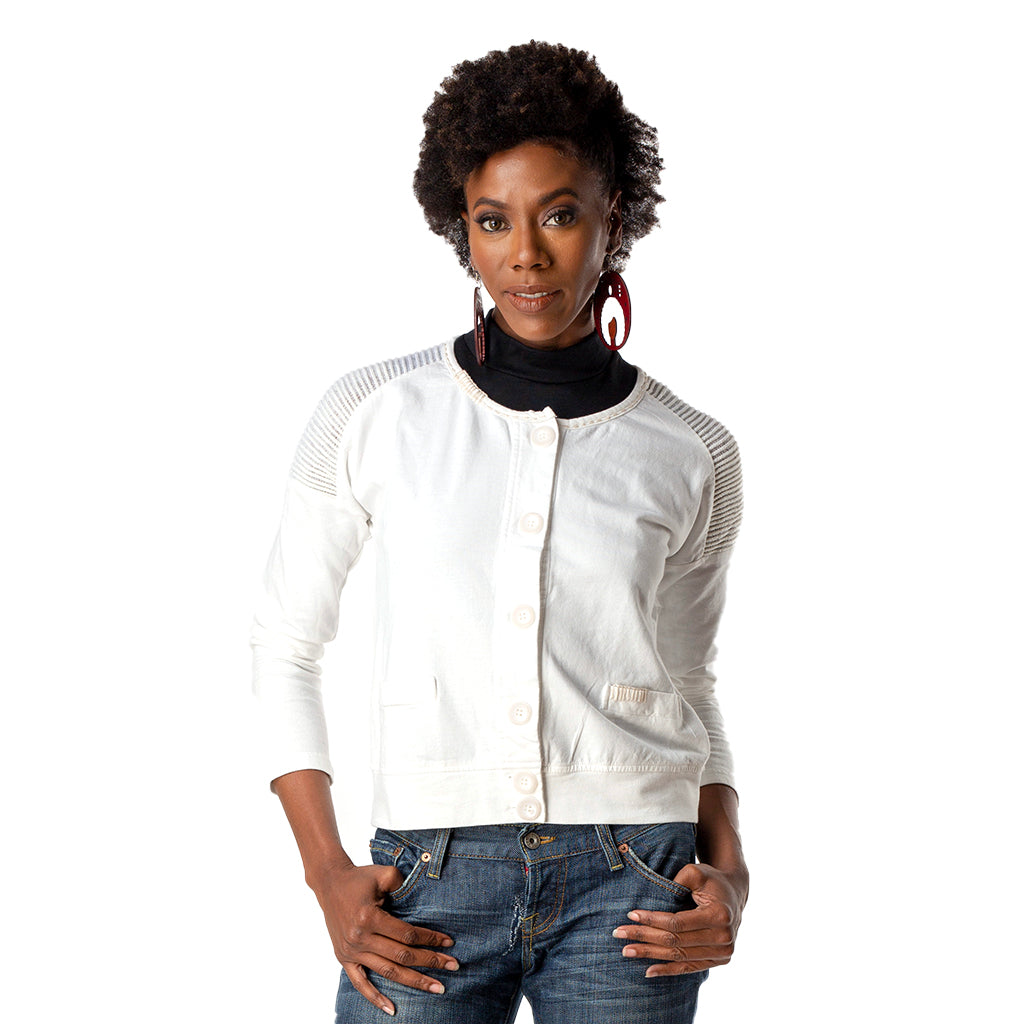 Khari Cardigan Top Model