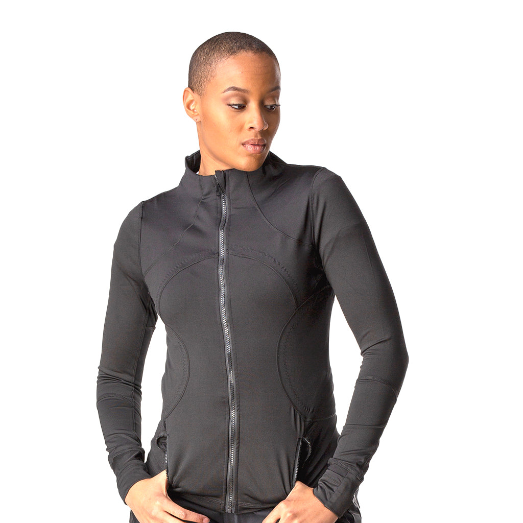 Larriah Activewear Jacket Front