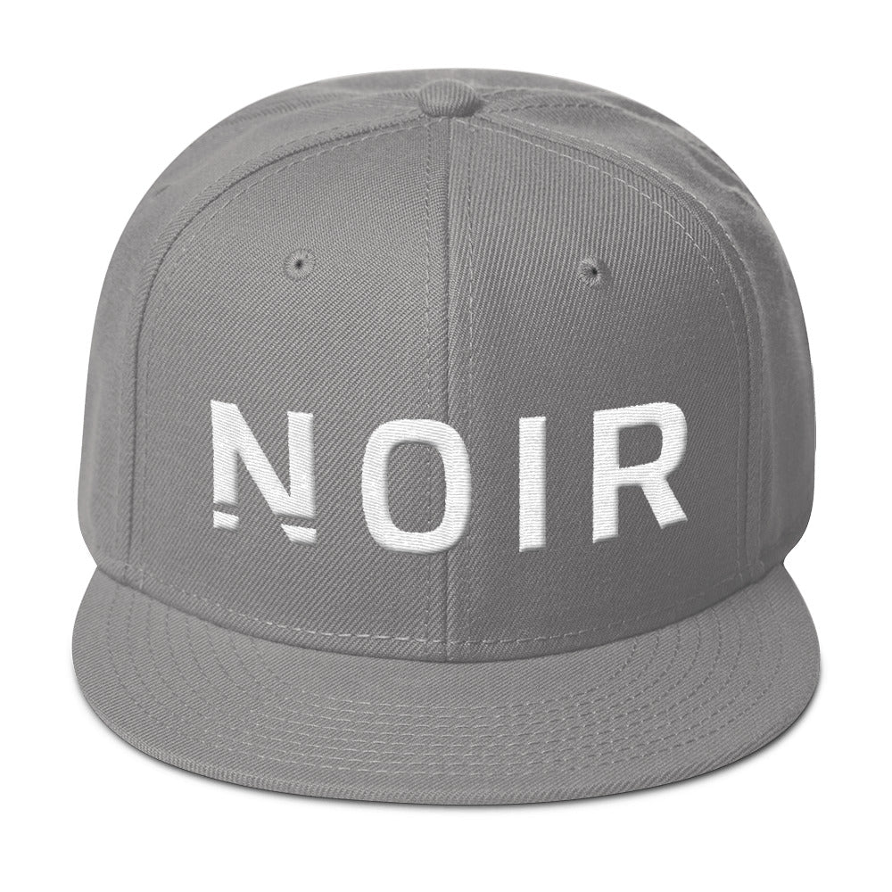 Noir Girl Magic Noir Snapback Cap Gray
