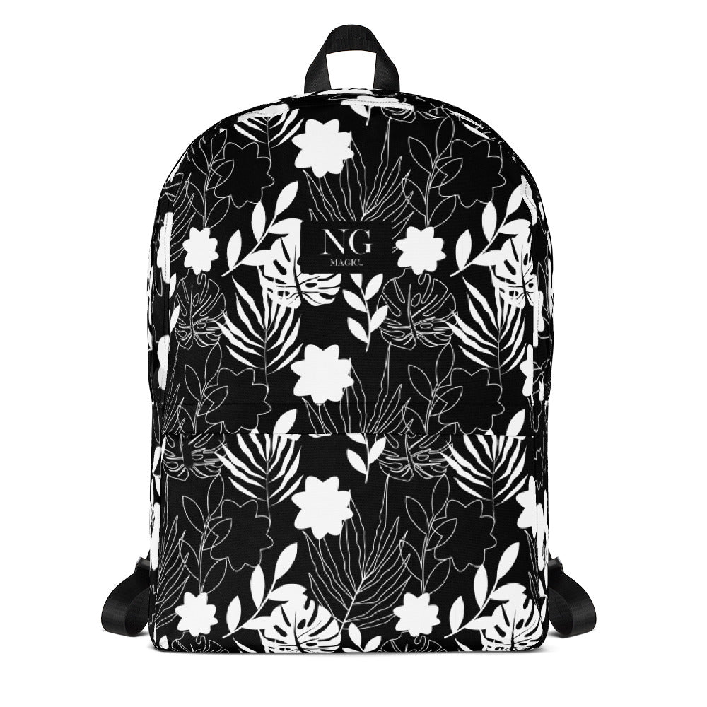 Noir  Bouquet Backpack