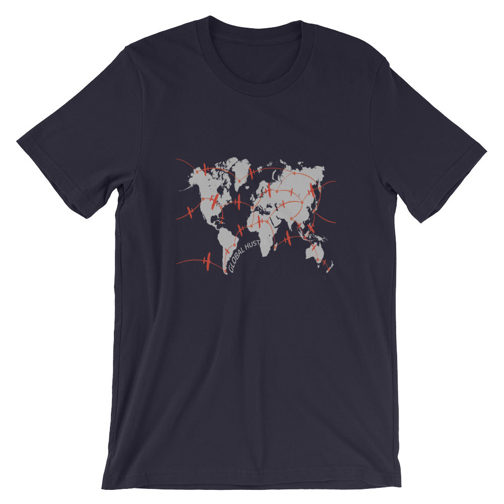 Global Hustle Unisex Short-Sleeve T-Shirt