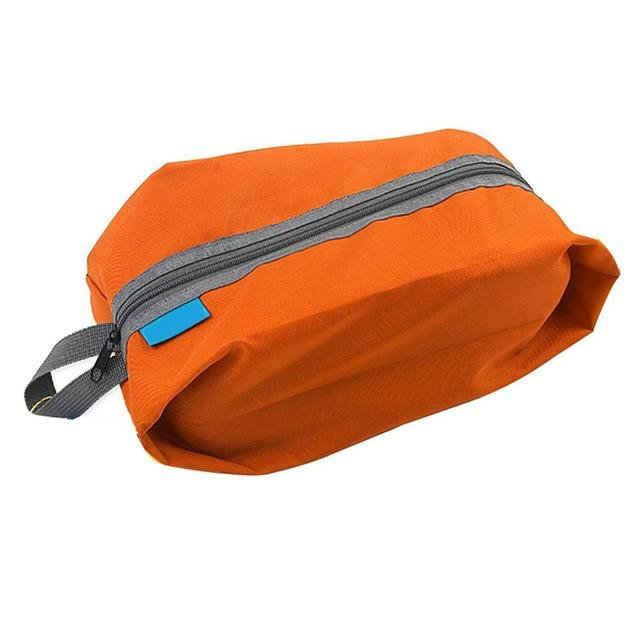 Portable Waterproof Travel Shoe Bag - Orange