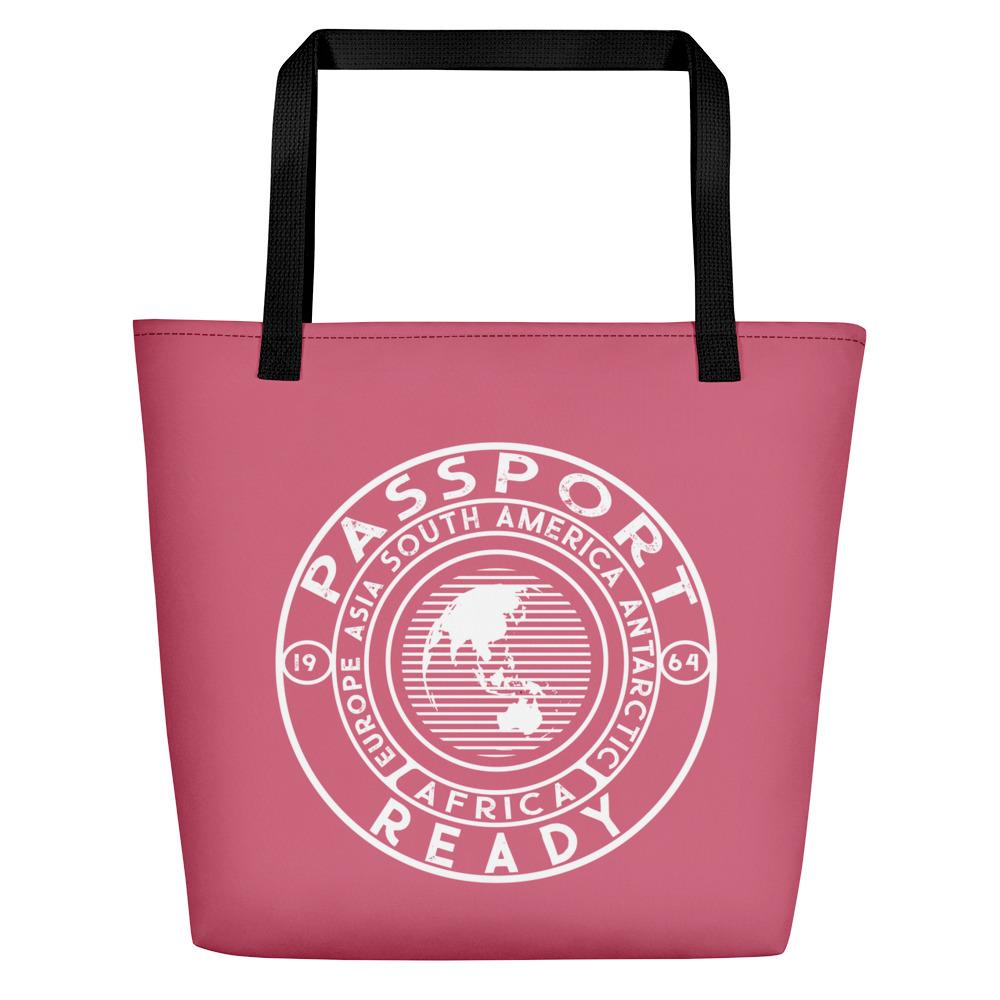Passport Ready Beach Bag Rapture Rose