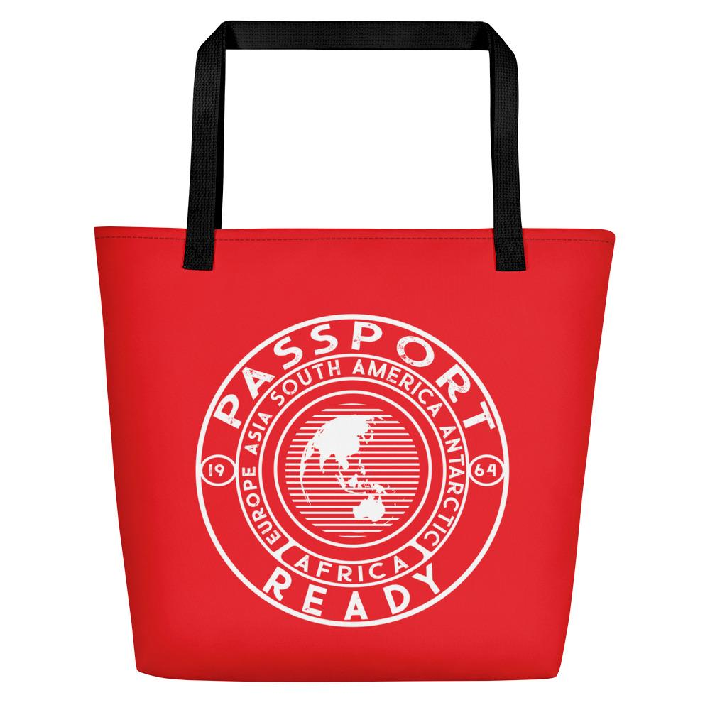 Passport Ready Beach Bag Red Tomato