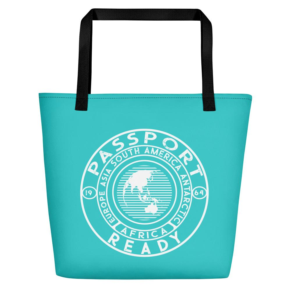 Passport Ready Beach Bag Sea Green Blue
