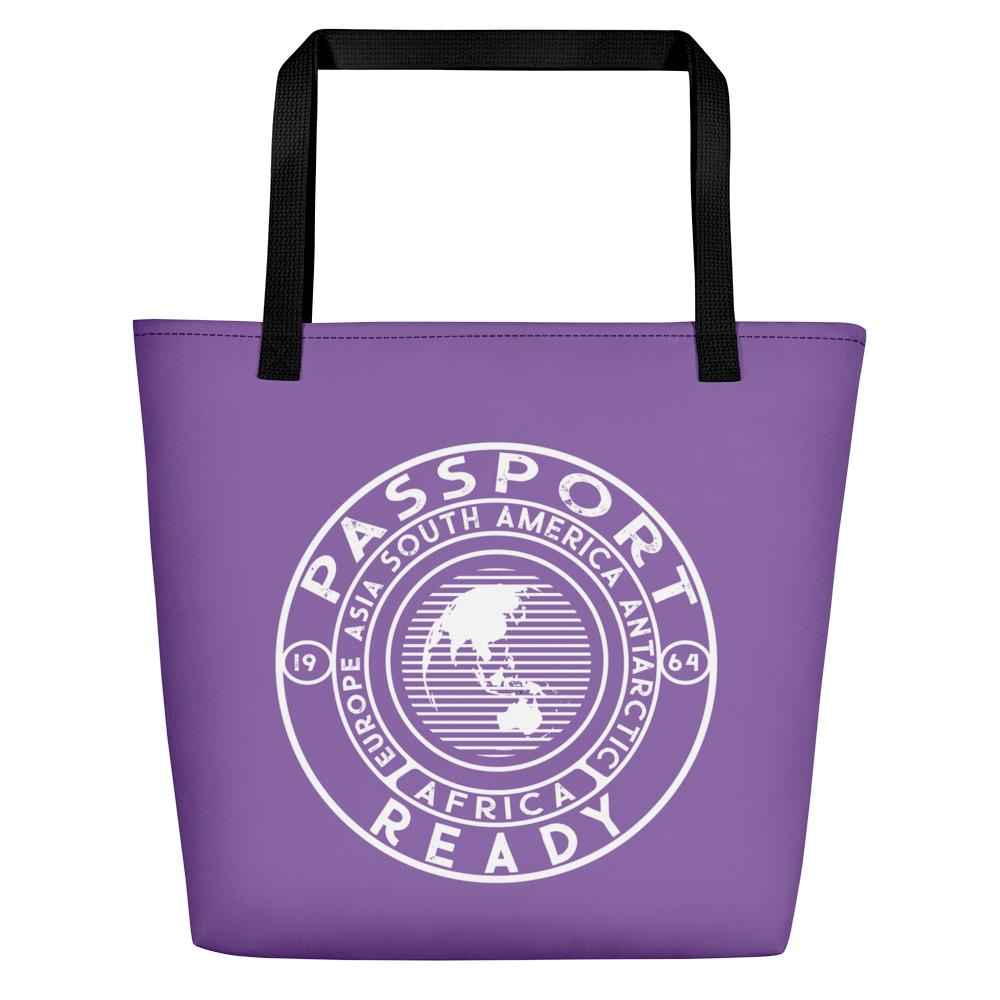 Passport Ready Beach Bag Ultra Violet