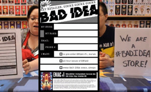 Rick's Comic City is #Allin with #BadIdea!