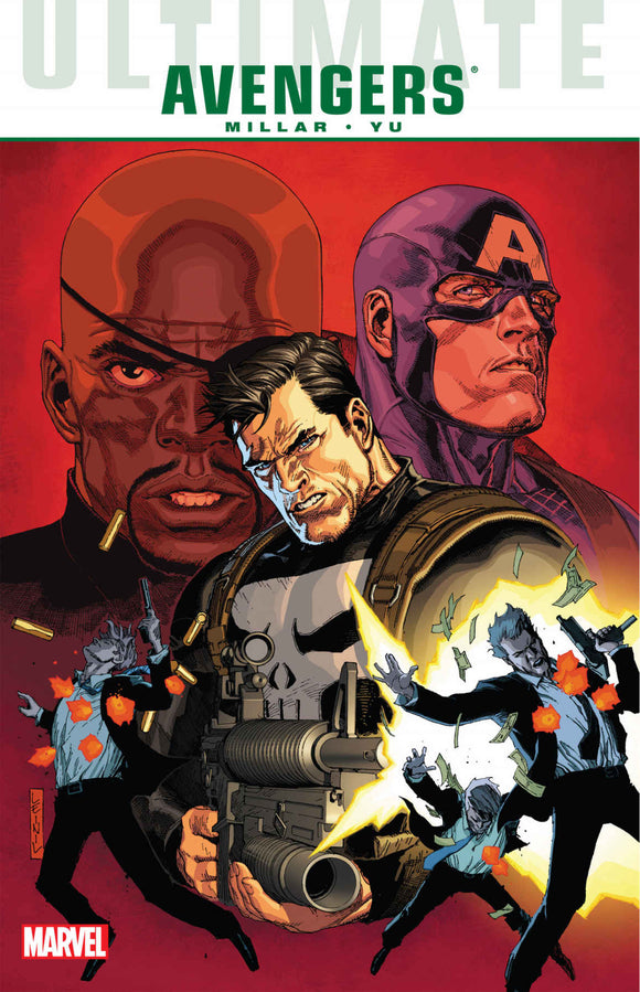 Ultimate Comics Avengers: Crime & Punishement TPB (Softcover)