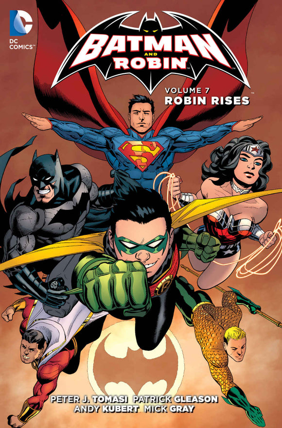 Batman and Robin Vol 07: Robin Rises TPB